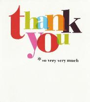 Thank You Card 1 Front Page